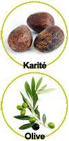 Actifs beurre de karité et olive