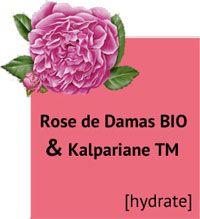Actifs Rose de Damas Bio et Kalpariane TM