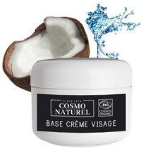 Utiliser la crème neutre bio et personnalisée là avec vos propres ingrédients