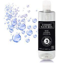Utiliser la base lavante Cosmo Naturel et personnalisée là avec des huiles essentielles