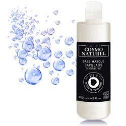 Utiliser la base masque capillaire Cosmo Naturel et personnalisée là avec des huiles essentielles