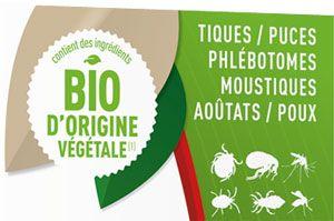 Pipette insectifuge pour chiot et petit chien Biovétol