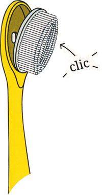 Brosse à dent écologique pour enfant à tête rechargeable Caliquo