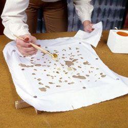 Fabriquer son batik avec de la cire d'abeille