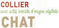 Collier insectifuge au géraniol pour chat Biovétol
