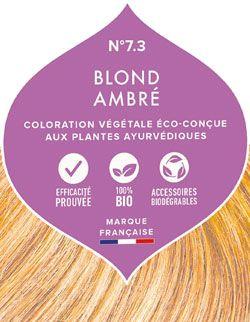 Coloration végétale Blond Ambré Emblica