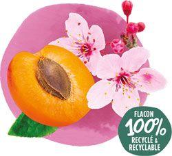 Crème de douche bio Fleur de Cerisier et Abricot