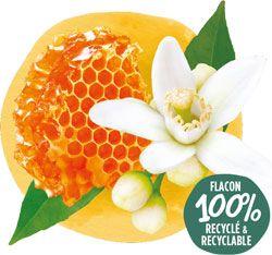 Crème de douche bio Miel Fleur d'Oranger