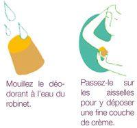 Utilisation du déodorant solide Lamazuna