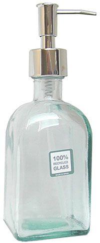 Distributeur de savon liquide en verre recyclé