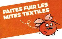 Faites fuir les mites textiles