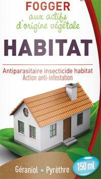Fogger Habitat antiparasitaires Biovétol