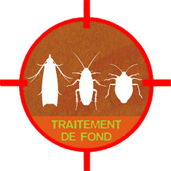Fumigène pour traitement de fond contre les insectes