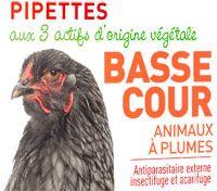 Pipettes insectifuge pour animaux à plumes de basse cour - Biovétol