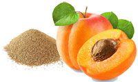 La poudre de noyaux d'abricot comme exfoliant