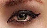 Exemple d'un maquillage à l'aide de kajal Soultree