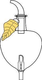 Verrerie Pomme ambre